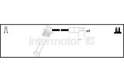 Quality Ignition Ht Lead Set Intermotor FORD, MAZDA 73960