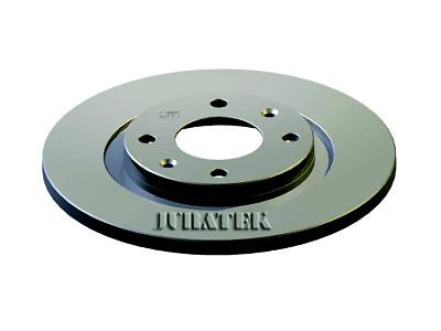 PAIR OF JURATEK QUALITY BRAKE DISCS CIT108 X2/266 mm FRONT