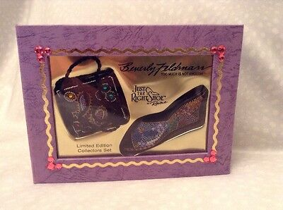 Just the Right Shoe by Beverly Feldman Limited Edition Collector Set #25752