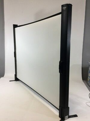 Epson ES1000 Ultra Portable Tabletop Projection Screen (BD1052259)