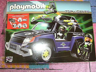 Playmobil Top Agents 4878 + Rc Modul 4856 Top!