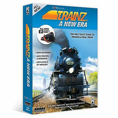 Trainz: A New Era + Fast Same Day USPS 1st Class Shipping!! + Brand New!!