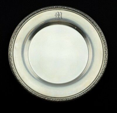 "Matthews Co / Grogan Co Sterling Silver Bread & Butter Plate 6.5"" Pattern 1250-6"