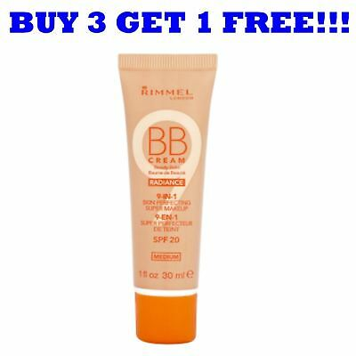 Rimmel BB Cream 9 in1 Radiance 30ml Medium