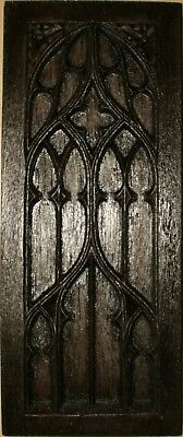 gothic church  tracery panel