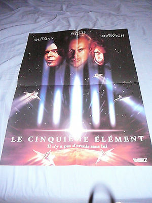 THE FIFTH ELEMENT BRUCE WILLIS PIN UP POSTER PHOTO AFFICHE 16 x 21 CLIPPING