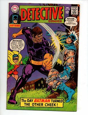 "Detective Comics #370 (Dec 1967, DC) VF+ 8.5 ""1ST NEAL ADAMS-A ON BATMAN"""