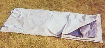 Sleeping Bag Cover/Cowboy's Bedroll Tarp Waterproof Light Green Marine Canvas