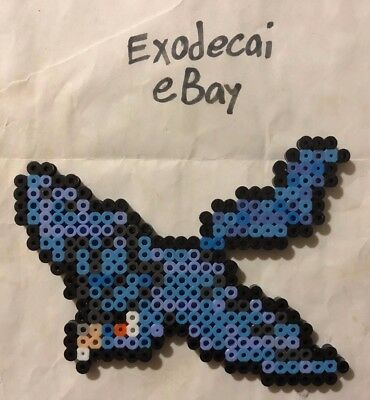 Articuno Pokemon Bead Sprite Perler Art Menu Icon