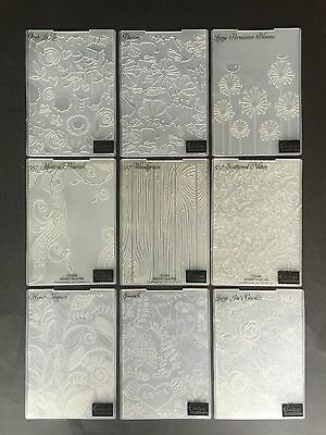 "Kaisercraft Couture Creations Embossing Folder Folders 5x7"" Christmas Card Make"