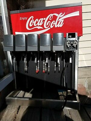 6 HEAD CML SODA FOUNTAIN COCA COLA  despenser