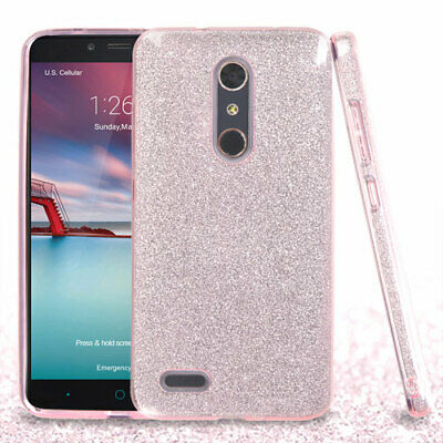 Cases, Covers & Skins United For Zte Max Xl Blade Glitter Wallet Phone Case Hybrid Extra Pocket Stand Purse Customers First Cell Phone Accessories