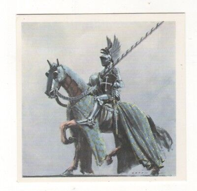Horses in the Service of Man Trade Card - The Great Battle Horse Medieval