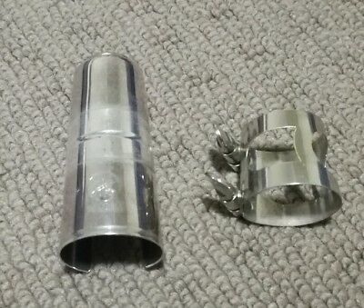 Used Yamaha bb clarinet mouthpiece ligature and cup in very good conditions