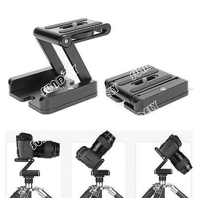 Aluminum Alloy Folding Camera Z Desktop Stand Holder Tripod Flex Pan SUNDELY