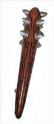 10 NEW INFLATABLE CAVEMAN BASHER CLUB WITH SPIKES FANCY DRESS PARTIES FUN