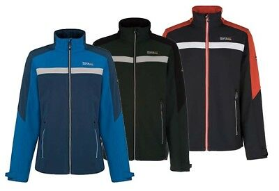 Regatta Parkley Mens Wind Resistant Water Repellent Jacket