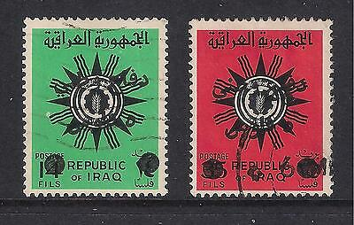 Iraq Irak used stamps - 1972 Tax Stamps, Defence Funds, T1071/1072, used