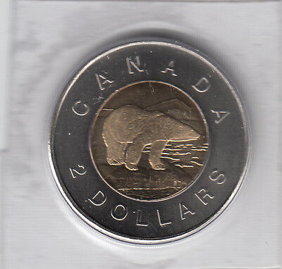 2007 Canada 2 Dollars Sealed From Mint Set