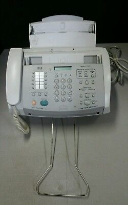 HP 1020 Inkjet Plain Paper Fax Machine with Built-In Telephone