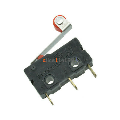 5PCS KW12 KW12-3 Micro Roller Lever Arm Normally Open Close Limit Switch