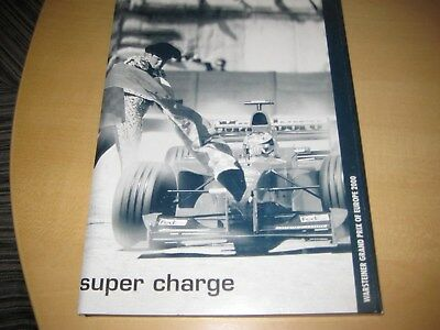Media Guide Pressemappe Formula 1 WM Nürburgring 2000 GP Europe, 78 Seiten