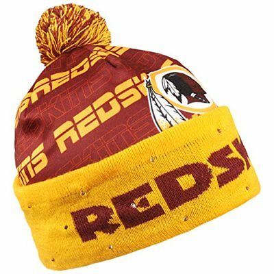 b4c4bed6dd7 Forever Collectibles NFL Adult s Washington Redskins Light Up Printed Beanie