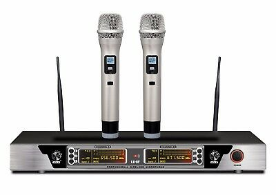 Guarda 200-Channel Dual Professional Wireless Microphone System 240 ft range max