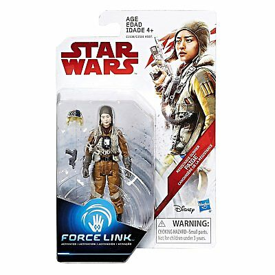 New Star Wars The Last Jedi Resistance Gunner  Paige Force Link Figure C1538