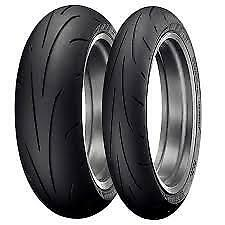 DUNLOP Q3 120/70-17 & 190/55-17 SET TYRE CLEARANCE SALE CHEAP Motorcycle
