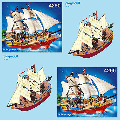 ** PLAYMOBIL ** PIRATE SHIP 4290 * Spares * SPARE PARTS SERVICE *