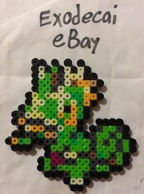Kecleon Pokemon Bead Sprite Perler Art Menu Icon
