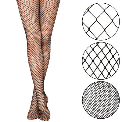 Women Fishnet Stockings Ladies Elastic Rhinestone Crystal Pantyhose Black Tights