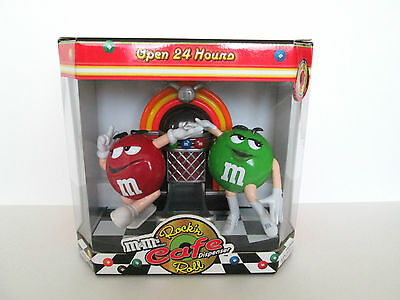 M and Ms Rock 'N Roll Cafe Candy Dispenser Limited Edition  New In Box
