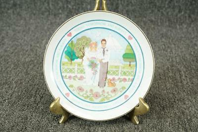3 american greetings corp lasting memories porcelain mother american greetings corp lasting memories wedding collector plate 6 14 m4hsunfo Images