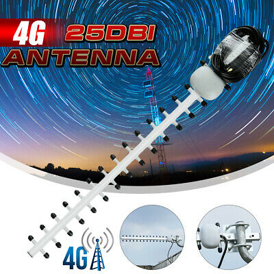 Original Outdoor 25DBI 4G LTE SMA Yagi Antenna WIFI Signal Booster Amplifierc
