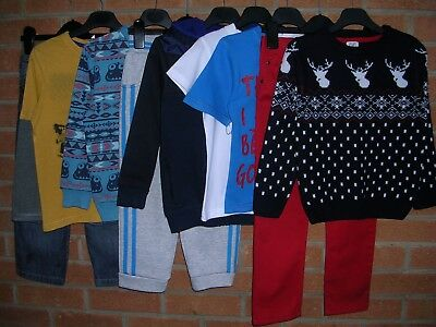NEXT H&M TU etc Boys Bundle Shirts Jeans Tops Christmas Jumper Age 5-6 116cm