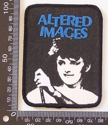 Genuine Altered Images Embroidered Jacket Patch Punk Band Uk Sew-On Cloth Badge