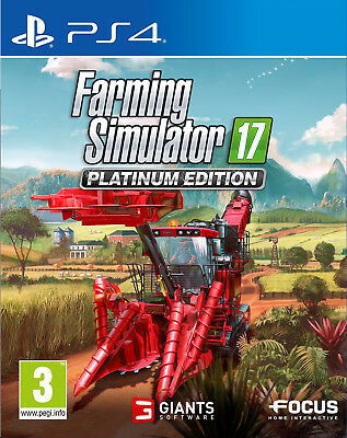 Farming Simulator 17 - Platinum Edition (PS4)  NEW AND SEALED - QUICK DISPATCH