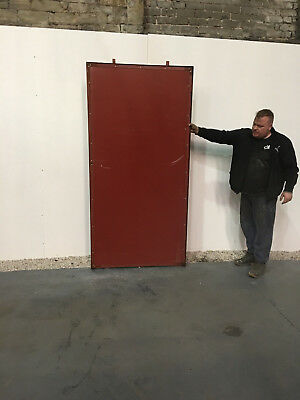 Steel security door with frame, WE HAVE 85 IN STOCK ONLY £60 each !!!!!