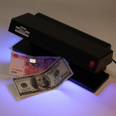 UV LED Light Forgery Dummy Money BankNote Detector Checker for Counterfeit AU