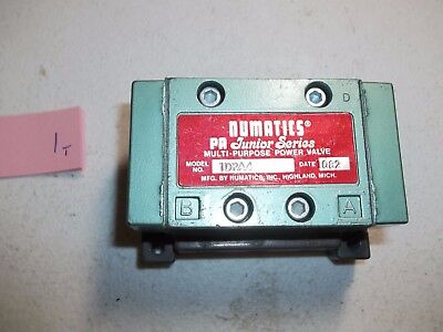 New No Box Numatics 1Dpa4 Power Valve (118-1)