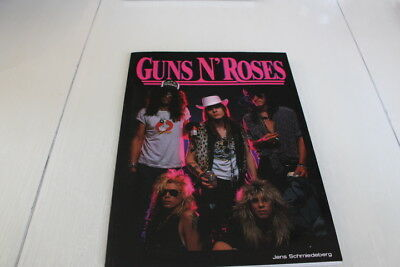 GUNS N' ROSES - 1991 great 100 pages German Book with great photo's