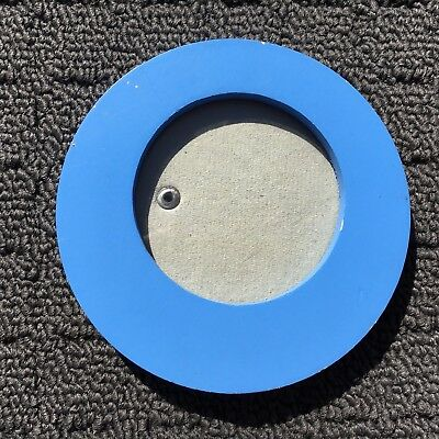 """LOOPY CIRCLE """"Blue"""" Round Wooden Wall Mounted Photo Frame Image Display"""