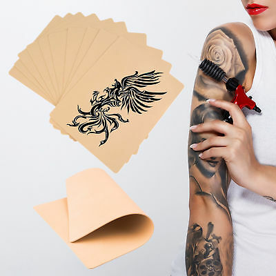 Synthetic Tattoo Practice Fake Skin Blank Artificial Beginners Double Sided