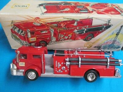 1970 Hess Fire Truck Restored with Box