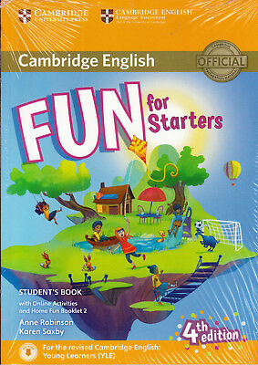 Cambridge English FUN FOR STARTERS 4th Edition Student's Book+Extras @NEW