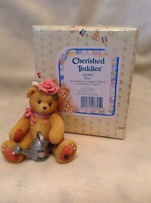 Cherished Teddies - Rose - 202886 - Everything's Coming Up Roses