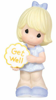 PRECIOUS MOMENTS Get Well Soon Figurine GIRL #103010