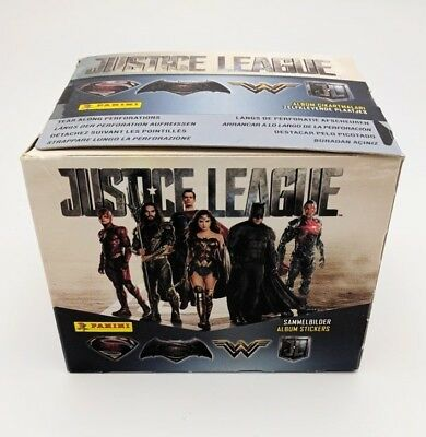 PANINI BOX 50 Bustine JUSTICE LEAGUE LIGA JUSTICIA 50 packets figurine Stickers